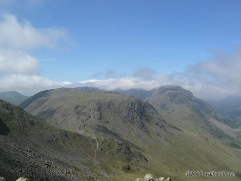 Towards Great Gable