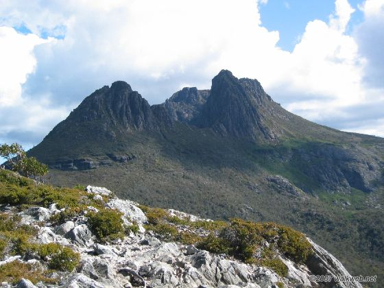 view of cradle mountain