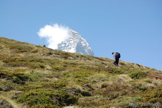 Schwarzsee paradise - view of Matterhorn