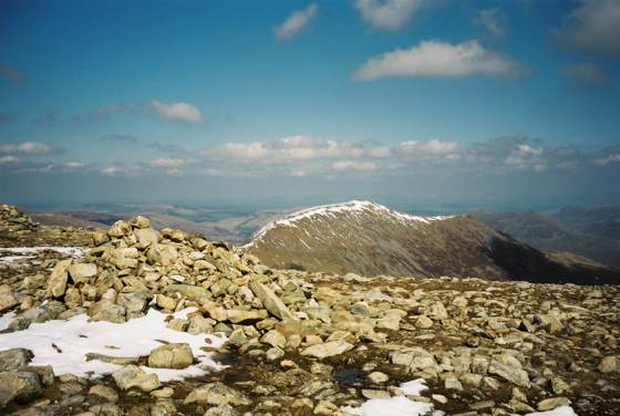 Summit of Fairfield (Lake District, England)